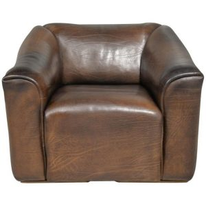 De Sede DS 50 leather reclining armchair, Switzerland 1980`s